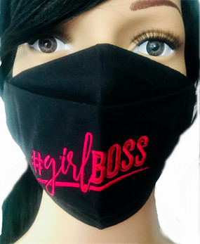 The #girlBoss Face Mask