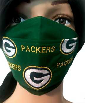 The Green Bay Packers Face Mask