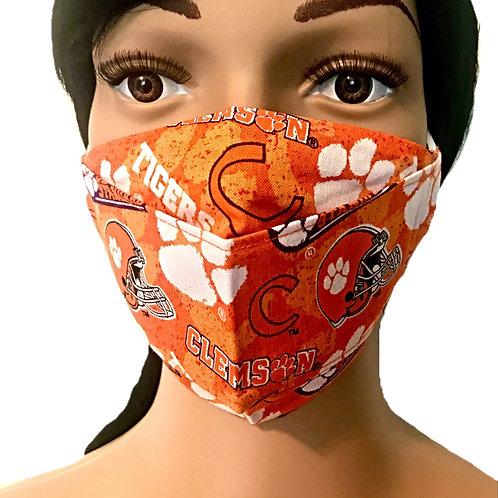 The Clemson Face Mask