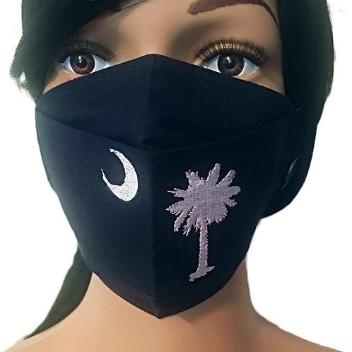The Palmetto Tree X Moon Face Mask