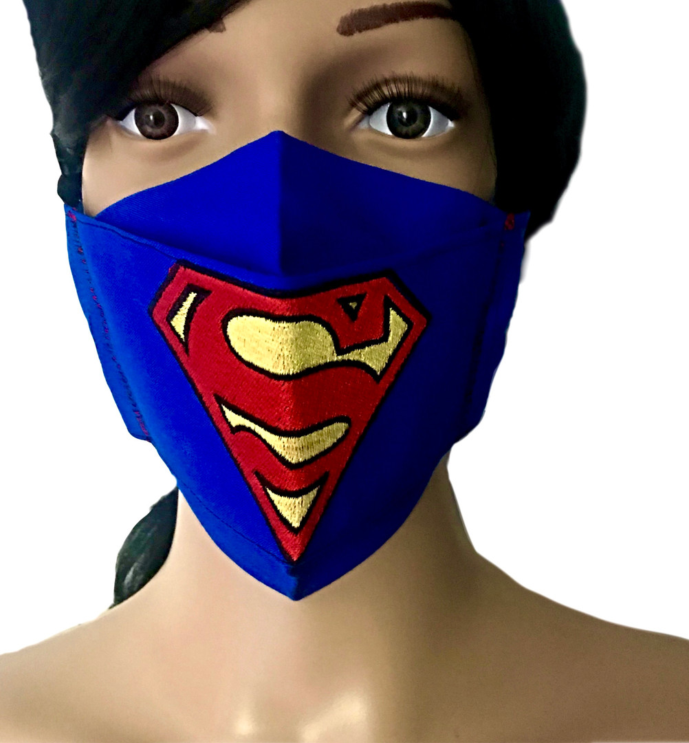 The Superman Face Mask