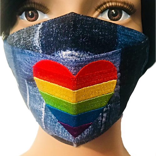 The Love is Love Face Mask