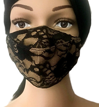 The Nude Lace Face Mask