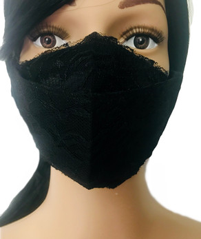 The Black Lace Face Mask