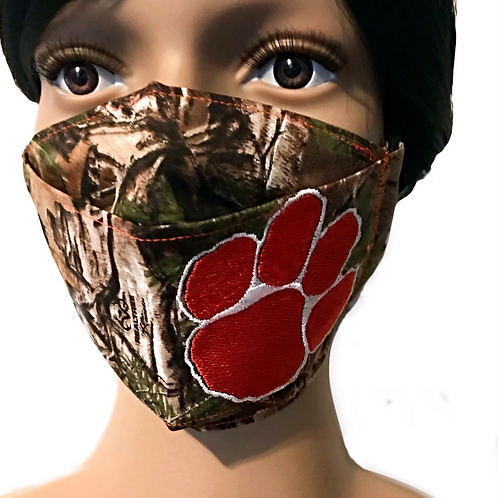 The Tiger in the Forest Face Mask