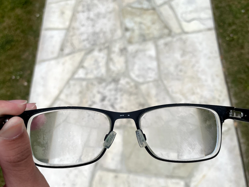 Cloudy vision: glasses-wearers' new pandemic reality
