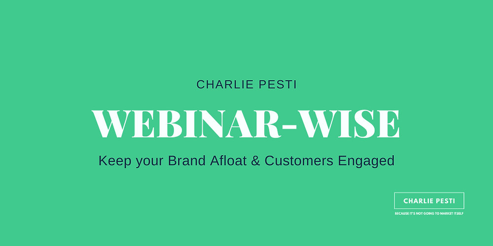 How webinars can help build your brand