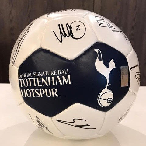 Signed Spurs football up for grabs in new LGBT+ charity fundraiser