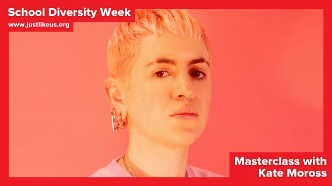 Kate Moross presents online School Diversity Week masterclass on making a career from creativity