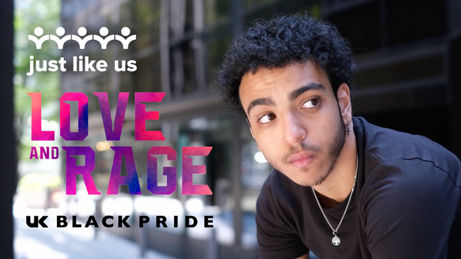 LGBT+ young people of colour share what 'Love and Rage' means to them this UK Black Pride