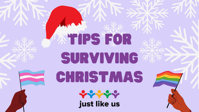 Tips for surviving Christmas if you're LGBT+
