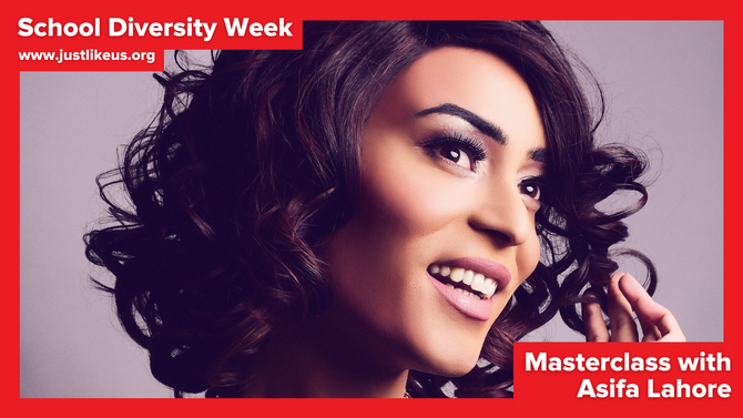 Asifa Lahore presents online School Diversity Week masterclass on being your authentic self