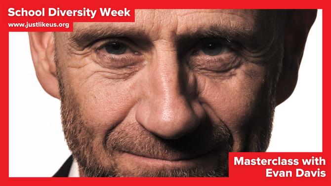 Evan Davis presents online School Diversity Week masterclass on the secrets of happiness