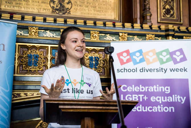 School Diversity Week lets young people know being LGBT+ is something  they can talk about