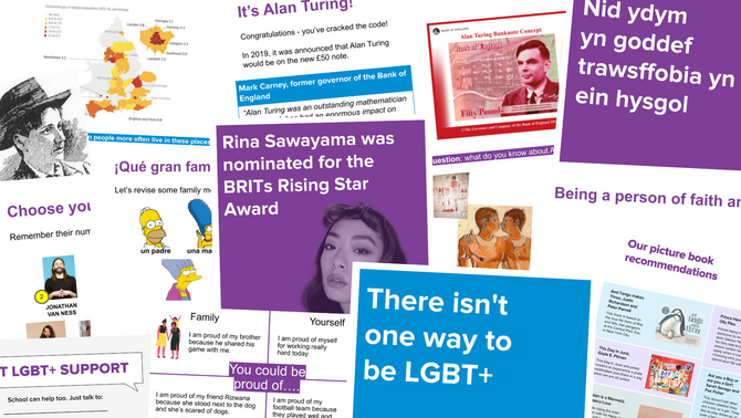 Free toolkit of LGBT+ inclusive teaching resources for all key stages now available