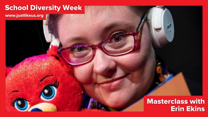 Erin Ekins presents online School Diversity Week masterclass on being LGBT+ and autistic