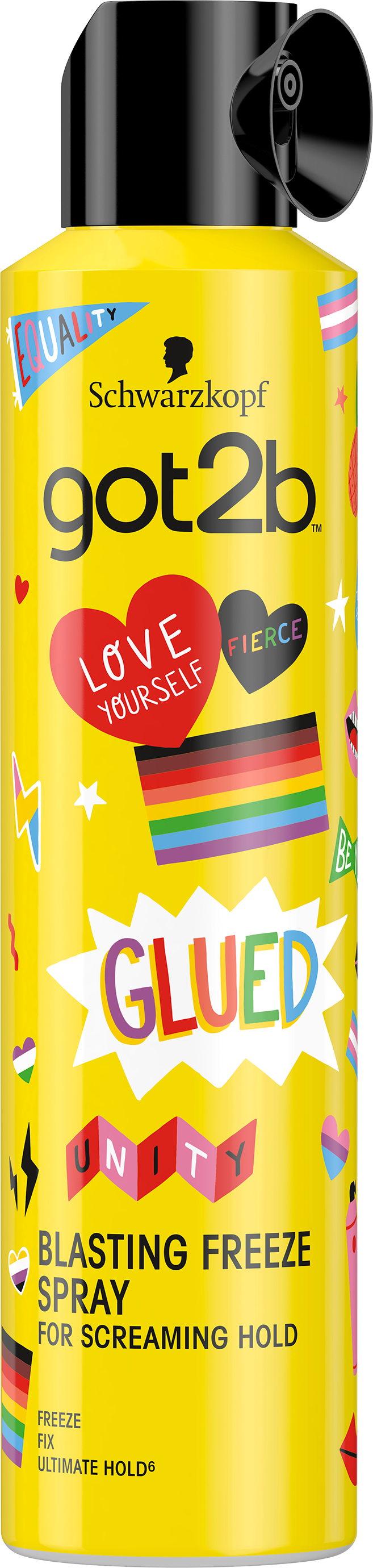 Schwarzkopf got2b and Just Like Us - a partnership celebrating the individuality of LGBT+ young peop