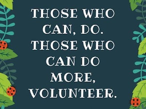 Volunteering is a Work of Heart