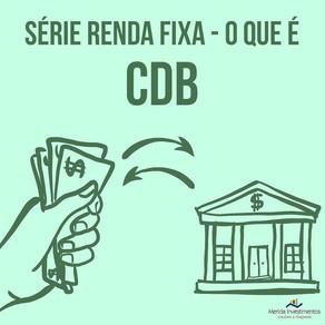 CDB O QUE É?