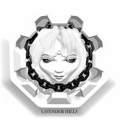 logo for lavender hills novel in progress