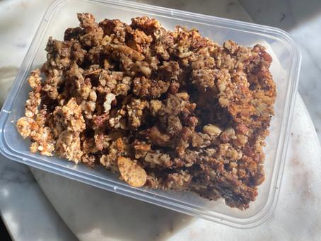 Crunchy Morning Granola (V) (GF)