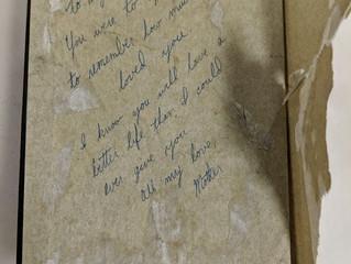 Guest Blog: A Mother's Secret Message