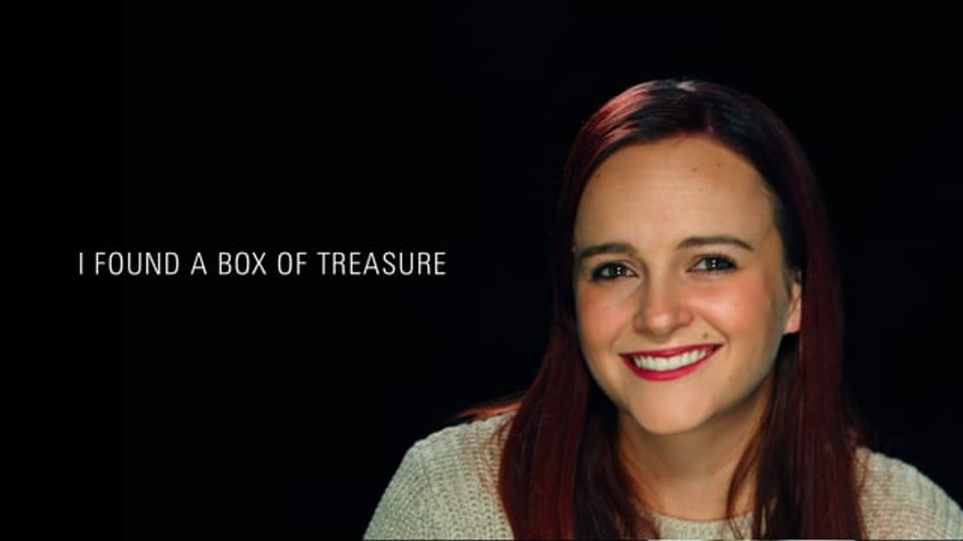 "Holly: ""I found a box of treasure..."""