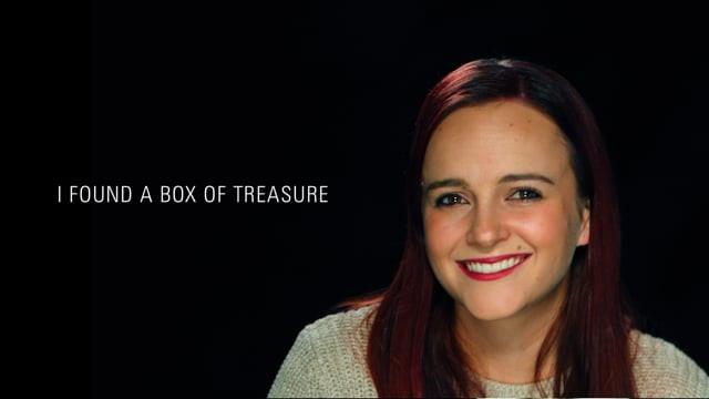 """Holly: """"I found a box of treasure..."""""""