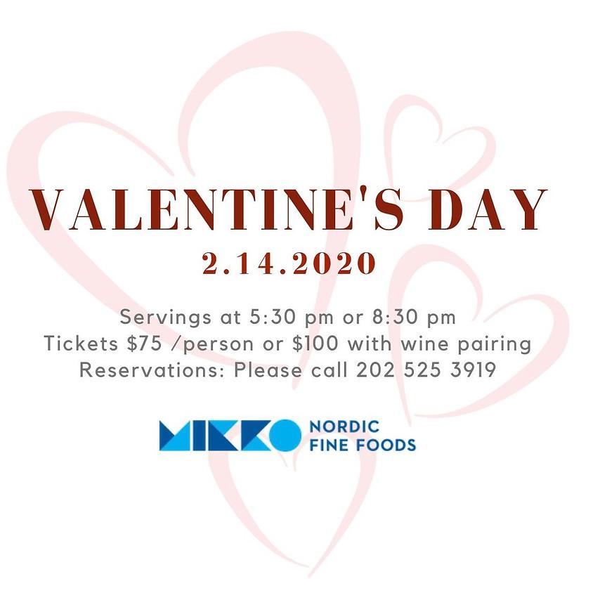 Valentine's Day Dinner at MIKKO