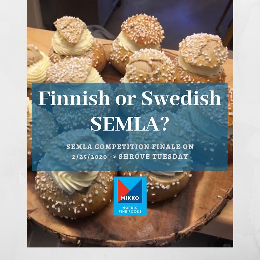 Finnish or Swedish SEMLA?