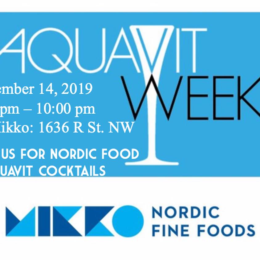 Aquavit Week at MIKKO