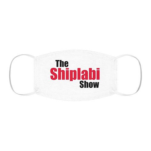 The Shiplabi Show - Polyester Face Mask(White)