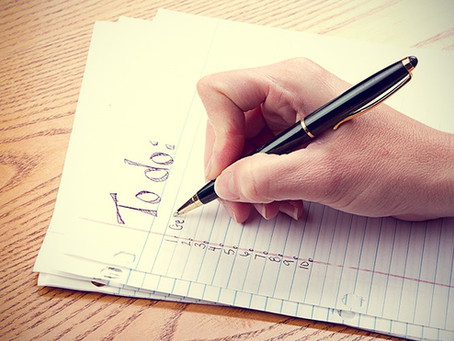 MOTIVATION MONDAY: TO-DO LISTS