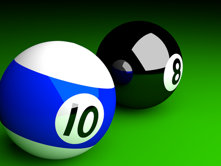 Monday Motivation: Behind the 8 Ball