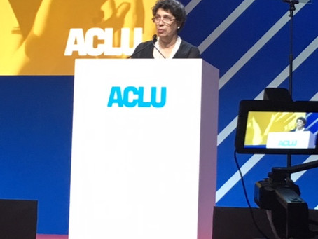 Susan Herman, J.D., President of the ACLU, Highlights Constant Vigilance as the Price of Liberty