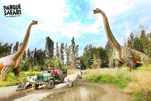 safari dinosaurios animatronic