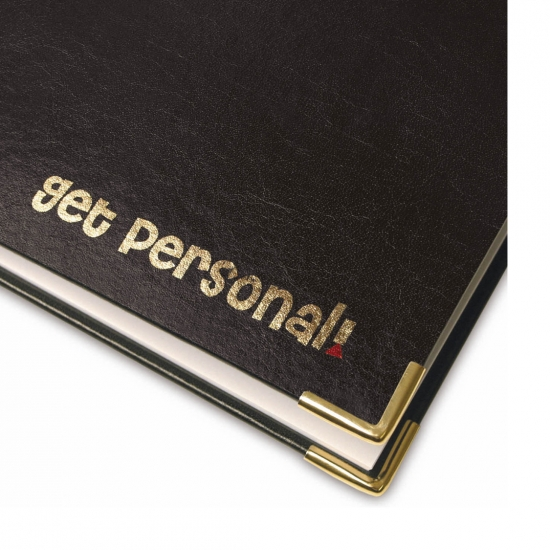 Gold Foiled Hard Cover