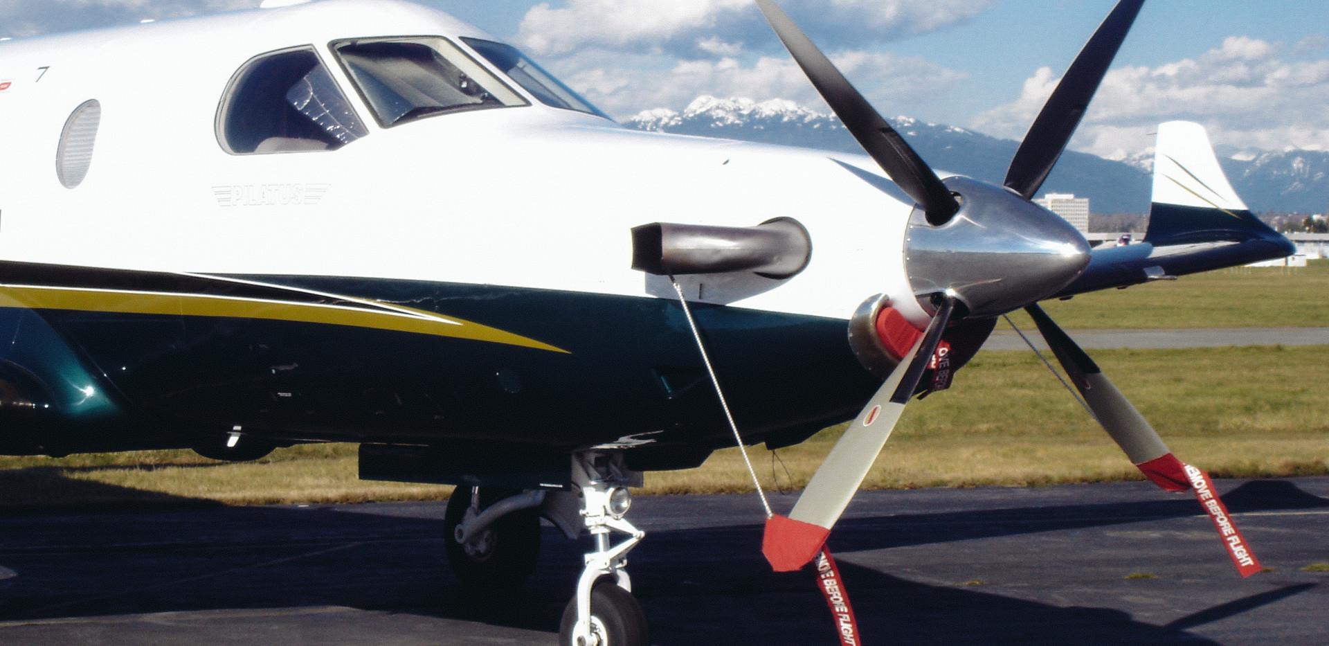 Western Propeller Capabilities Pilatus PC-12 Hartzell