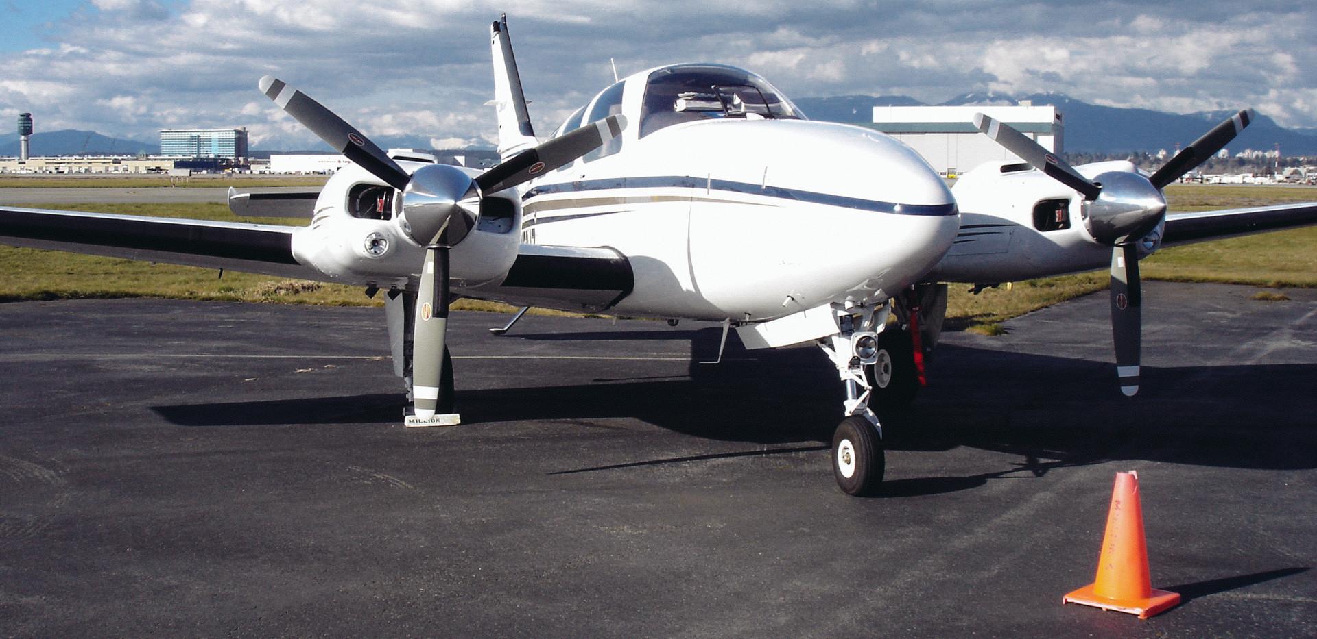 Western Propeller Capabilities Beechcraft Baron Hartzell