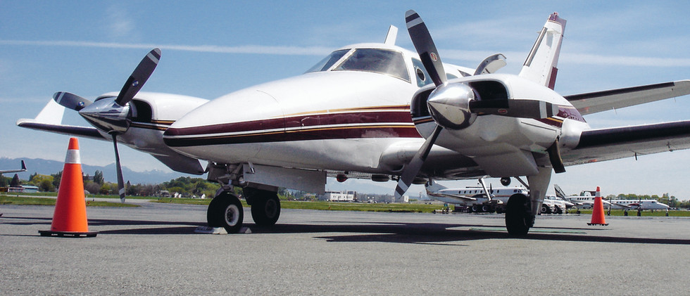 Western Propeller Capabilities Beechcraft Duke Hartzell