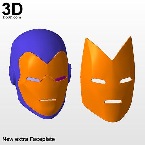 Iron Man Classic Tony Stark Comic Style Helmet | 3D Printable Model  #15737
