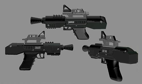 Tie Pilot's Gun  SE-44c Officer's Pistol Star Wars TFA | 3D Model Project #283
