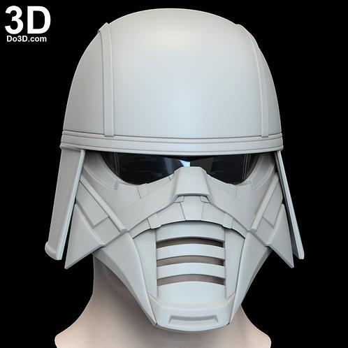 Trudgen Knights of Ren Helmet Star Wars Rise of Skywalker 3D Model Project #N13