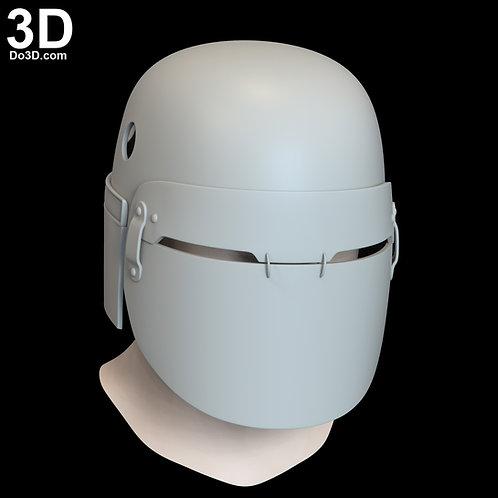 Cardo Knights of Ren Helmet Star Wars Rise of Skywalker 3D Model Project#N15
