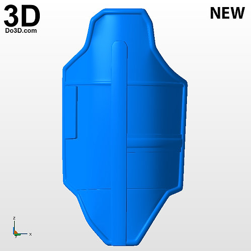 New Thigh Armor Mandalorian Season 2 | 3D Printable Mode Print File STL #MS27