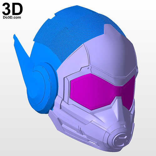 Ant-Man and the Wasp Female Helmet ant-woman ant-girl | 3D Model Project #4483