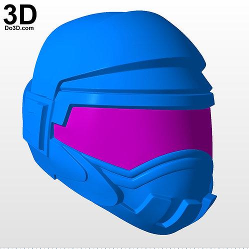 Steel Brigade Trooper Helmet from G.I. Joe | 3D Printable Model #5241