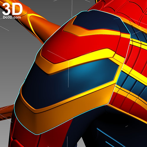 Iron Spider Shoulder Pad Armor (Spider-Man) | 3D Model Project #N27