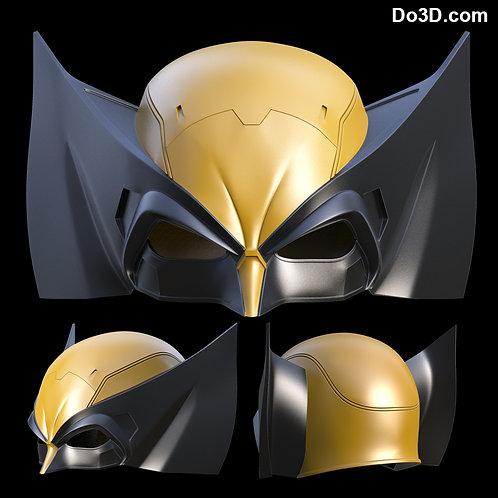 X-Men Wolverine Classic Helmet Mask Cowl  | 3D Model Project #896