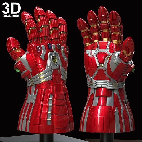Hulk's Nano Infinity Gauntlet Type 003 Expanded | 3D Model Project #5991